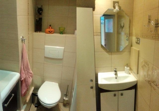 Galeria - łazienka jest z osobnym WC w łazience jest prysznic i pralka (Studentka szuka ...